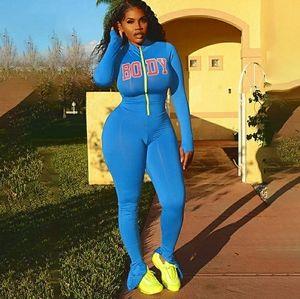 Blue BODY Jumpsuit